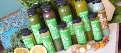 COLD-PRESSED JUICE CLEANSES